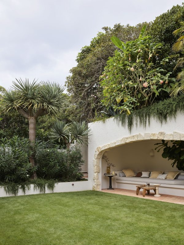 Wyer Co Boulder House Rear Garden w View To Cabana w Rooftop Garden Photography by Anson Smart
